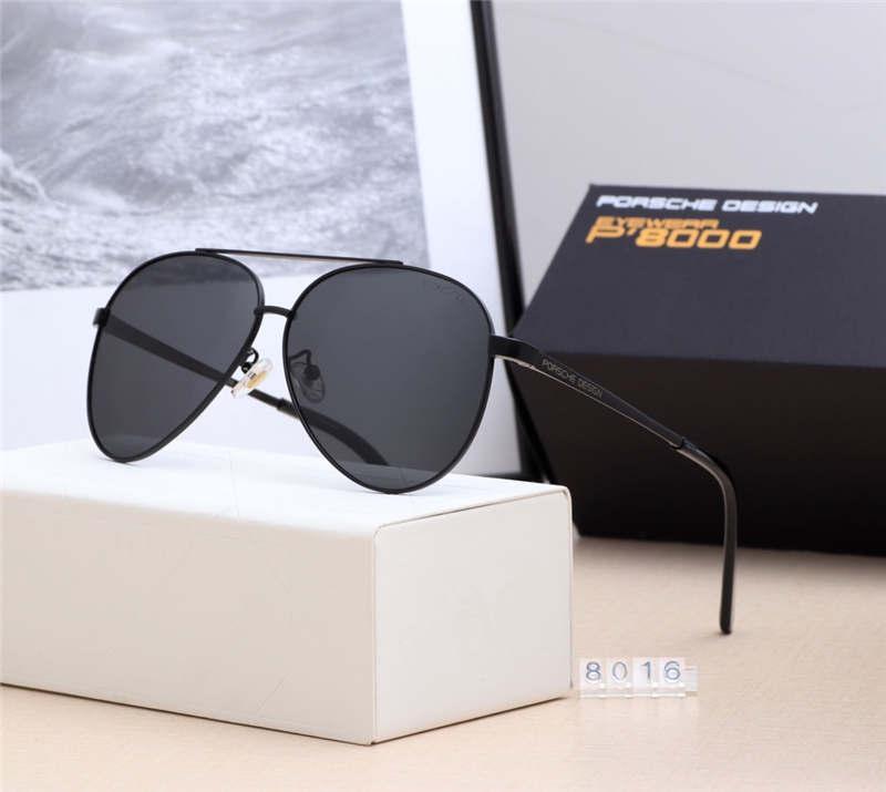 High Quality Fashion Round Sunglasses Mens Womens luxury YXVAXL Brand SunGlasses Gold Metal Black Dark 50mm Glass Lenses Better Brown Case