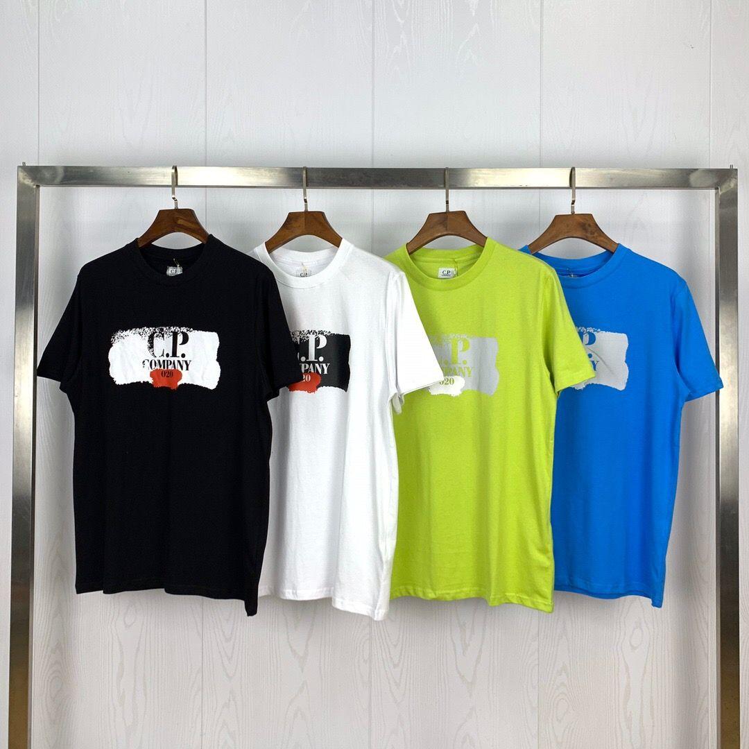 CP topstoney PIRATE COMPANY konng gonng الرجال الصيف جديدة قصيرة الأكمام تي شيرت I القطن الخالص القاع ملابس عارضة الأزياء الجملة الرجال