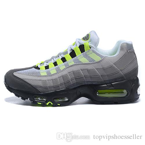 Nike Air Max 95 Men shoes chaussures En Gros Chaussures De Course Hommes OG Sneakers Bottes Authentique 95 s New Discount Discount Chaussures De Sport Taille 40-46