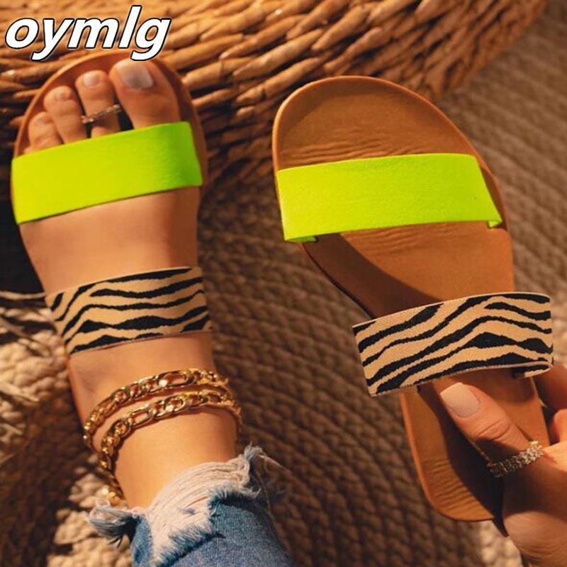 Verão Mulheres Sandals plano aberto Toe Calçados Mulher Plataforma das senhoras mulheres das sapatas de tamanho grande Plano Mulheres Sandals Womens Sandal