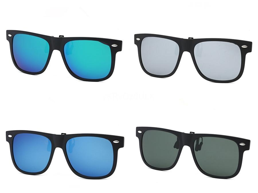 Aluminio y magnesio TR90 Sunglasee polarizadas de los hombres semi sin rebordes capa de espejo Gafas de sol Hombre Gafas Accesorios 6588 # 77976