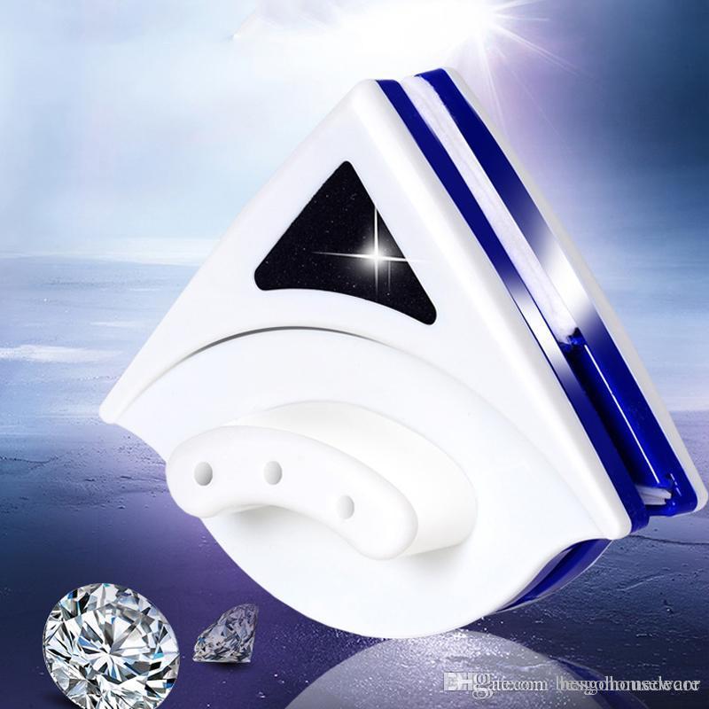 Limpieza de vidrio cepillo limpiaparabrisas herramienta de doble cara magnética portátil limpiaparabrisas casa cocina cristal de doble cara Brush Cleaner BH1808 CY