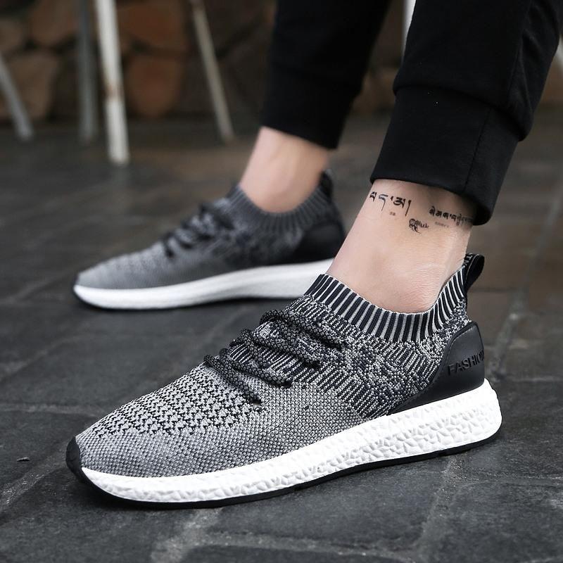 Nouveau designer de mode Sneakers Hommes Air D'été Maille Respirant Casual Chaussures Homme Baskets Ultra Boost Tenis Masculino Chaussures Sapatos
