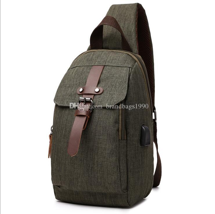 HBP Green Rucksack Stil Reise Gepäcktasche Einzelne Gurt One Strap Bag Feste Farbe Splash Proof Backpack Für Mittelschüler Kostenlos S