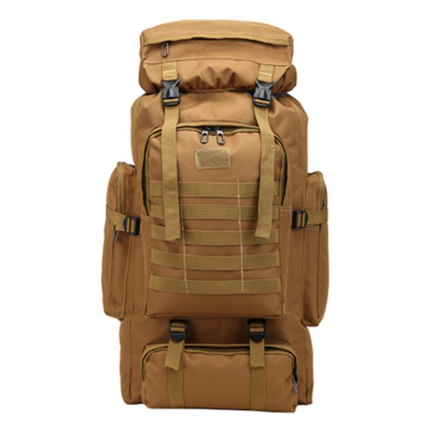 80L Equipamento Professional Waterproof Sports Bag Homens Mulheres Escalada Camping Caminhadas Backpack Montanhismo saco # 62313