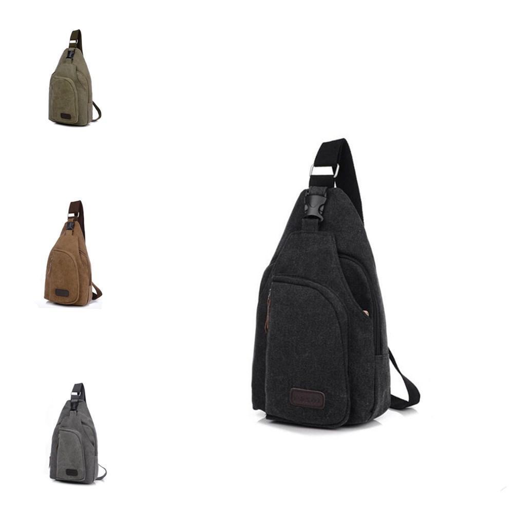 HobbyLane Moda sport esterni di svago della tela multifunzionale tasche spalla di vendita del sacchetto di corsa diagonale pacchetto uomini caldi