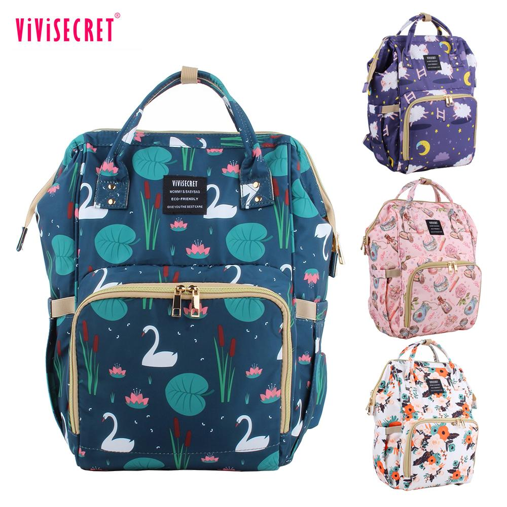 Brand New Maternity Large Capacity Care Diaper Backpack Desiger Bag For Bottle Feeding Carriage Baby Stuff Q190530