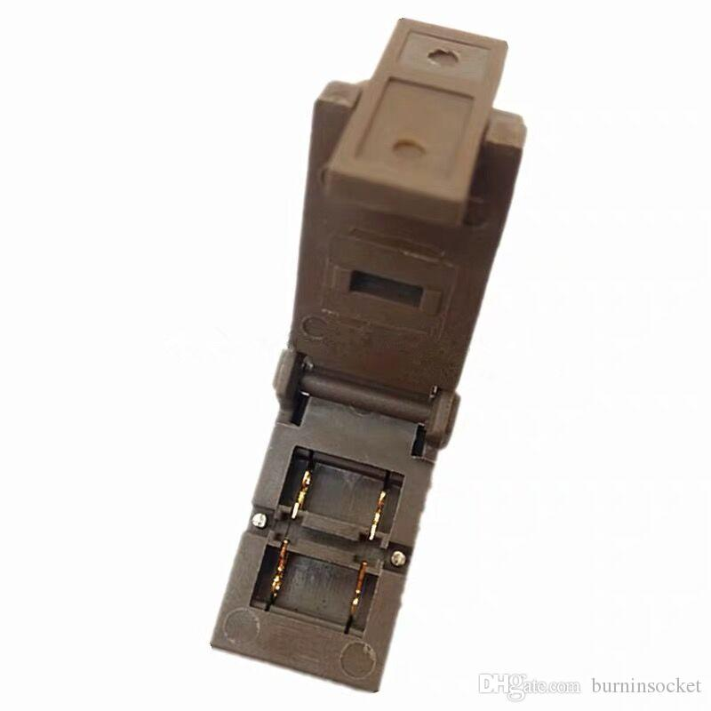 SOD323 SMD diodo IC Test Socket Prova di invecchiamento e masterizzare in Socket