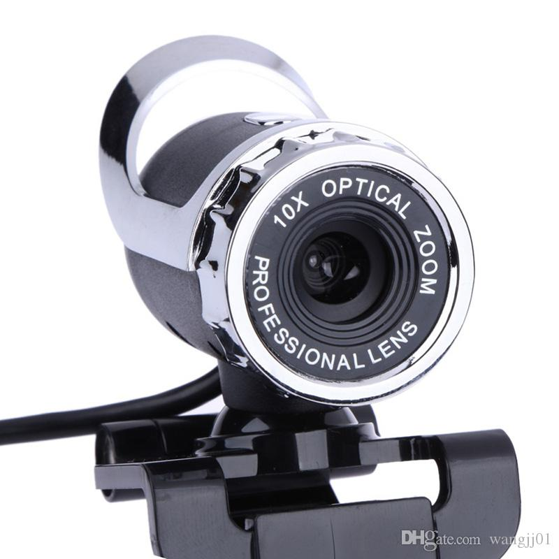 Video webcam for PC high resolution web cam with mic small video cam for laptop