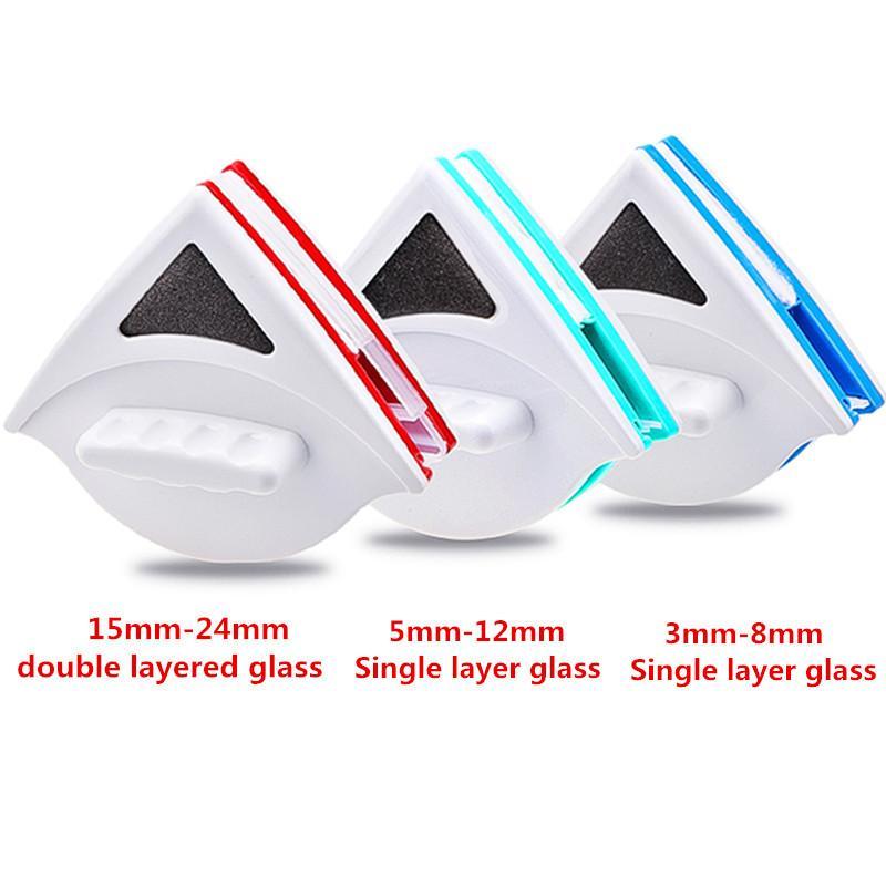 ضعف الجانب الزجاج فرشاة تنظيف النافذة المغناطيسي المغناطيس تنظيف أدوات التنظيف المنزلية ممسحة المفيد غسل السطح فراشي CJ191227
