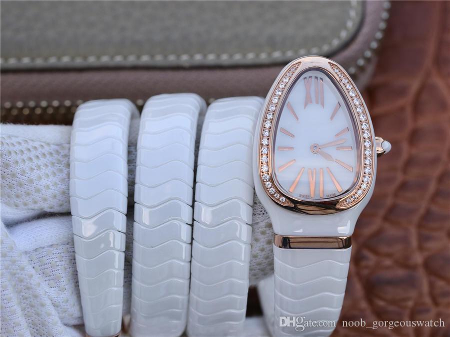 ring mesa embutidos cortar belo diamante, relógio requintado luxo, relógio serpentina requintado enroscou no pulso, moda brilhante.
