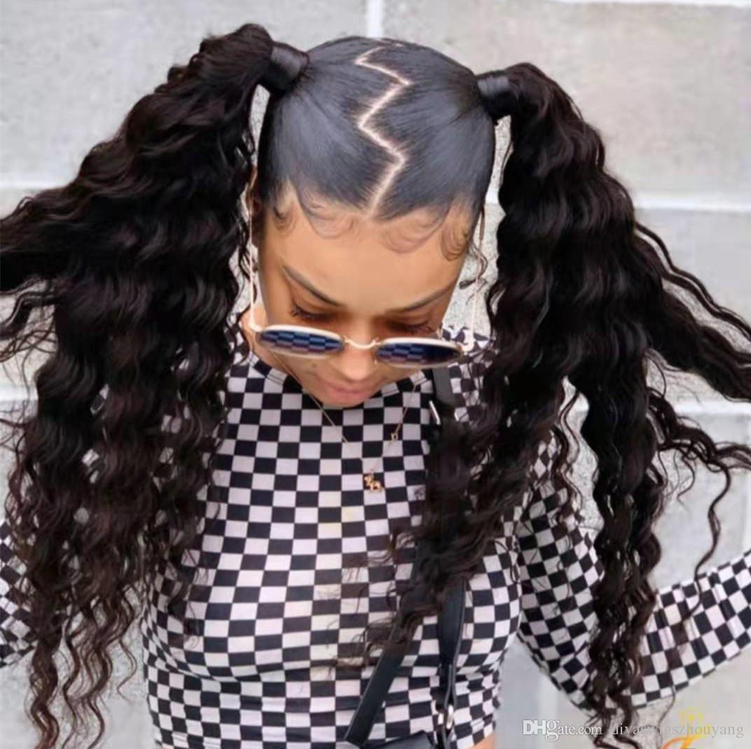 Fashion Braid Hairstyle Deep Wave Curly Remy Ponytail Hairpieces Drawstring  Ponytail Hair Extension Young Girl Hairstyle Hairstyles With Ponytail  Youtube Ponytail Hairstyles From Divaswigszhouyang, $42.07| DHgate.Com