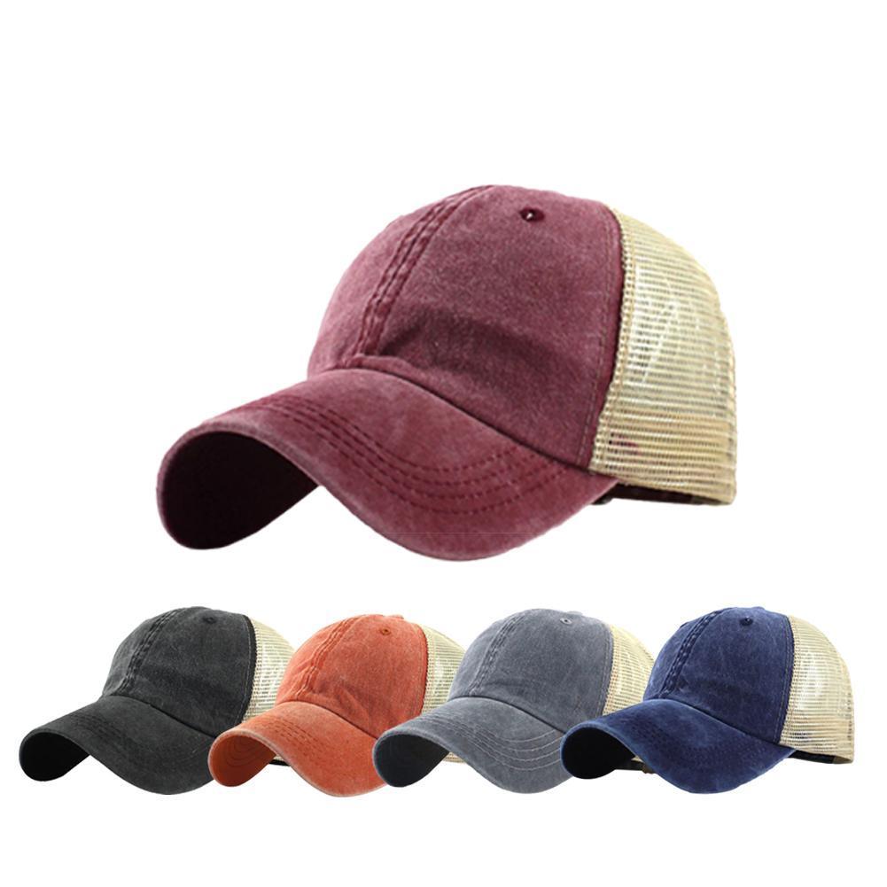 Men Women Snapback Baseball Ball Cap Outdoor Sports Blank Plain Hats Adjustable