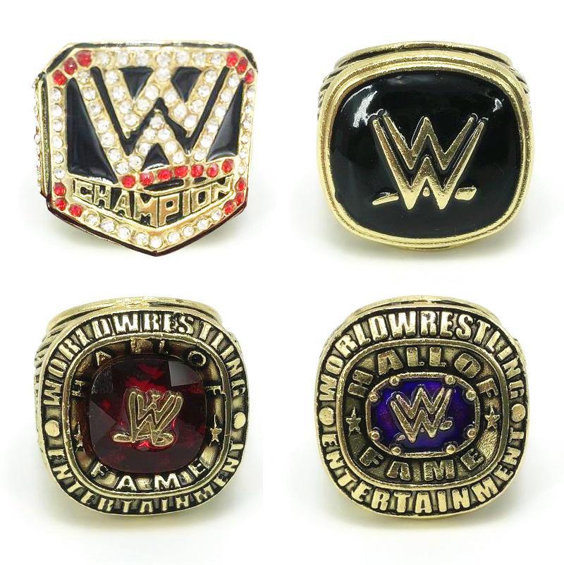 Оптовая Зал славы WWERing Wrestling Championship Ring Professional League кольцо в Европе и Америке Спорт кольца ювелирные изделия Поклонники подарка