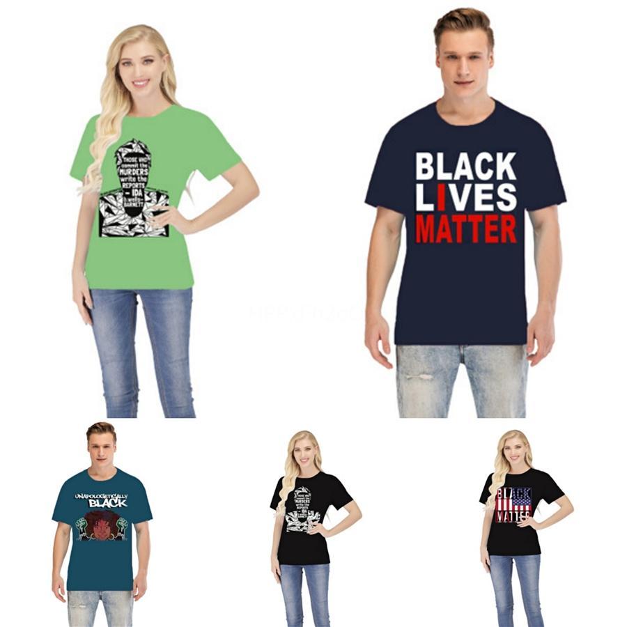 Mora Preto Matéria! Mens Hip Hop T-shirt Moda Marca preta sólida malha masculino Carta de Verão Imprimir Tee Designer Casual Tops Nevoeiro # 99076
