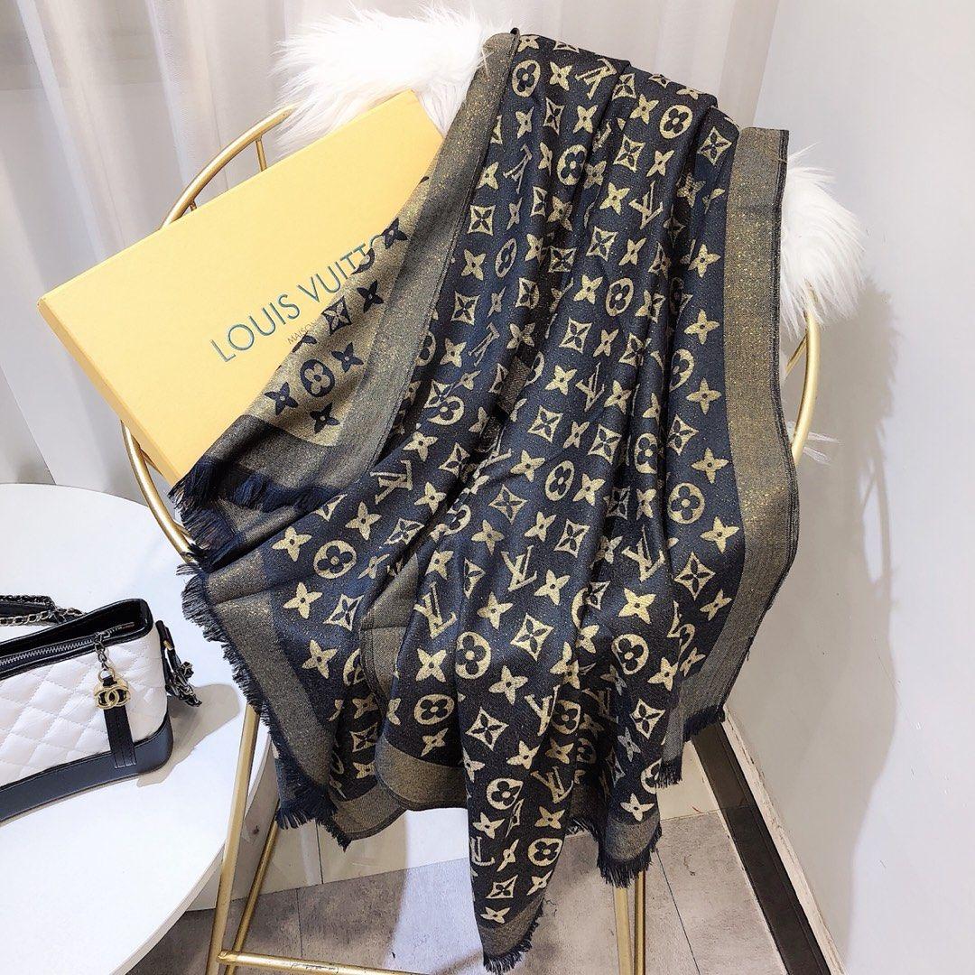 Klassischer Schal für modische Damen. Perfekte Ergänzung von hochwertigem Kleid, hautfreundlich, weich und glatt Seide Baumwolle scarf.8 Farben
