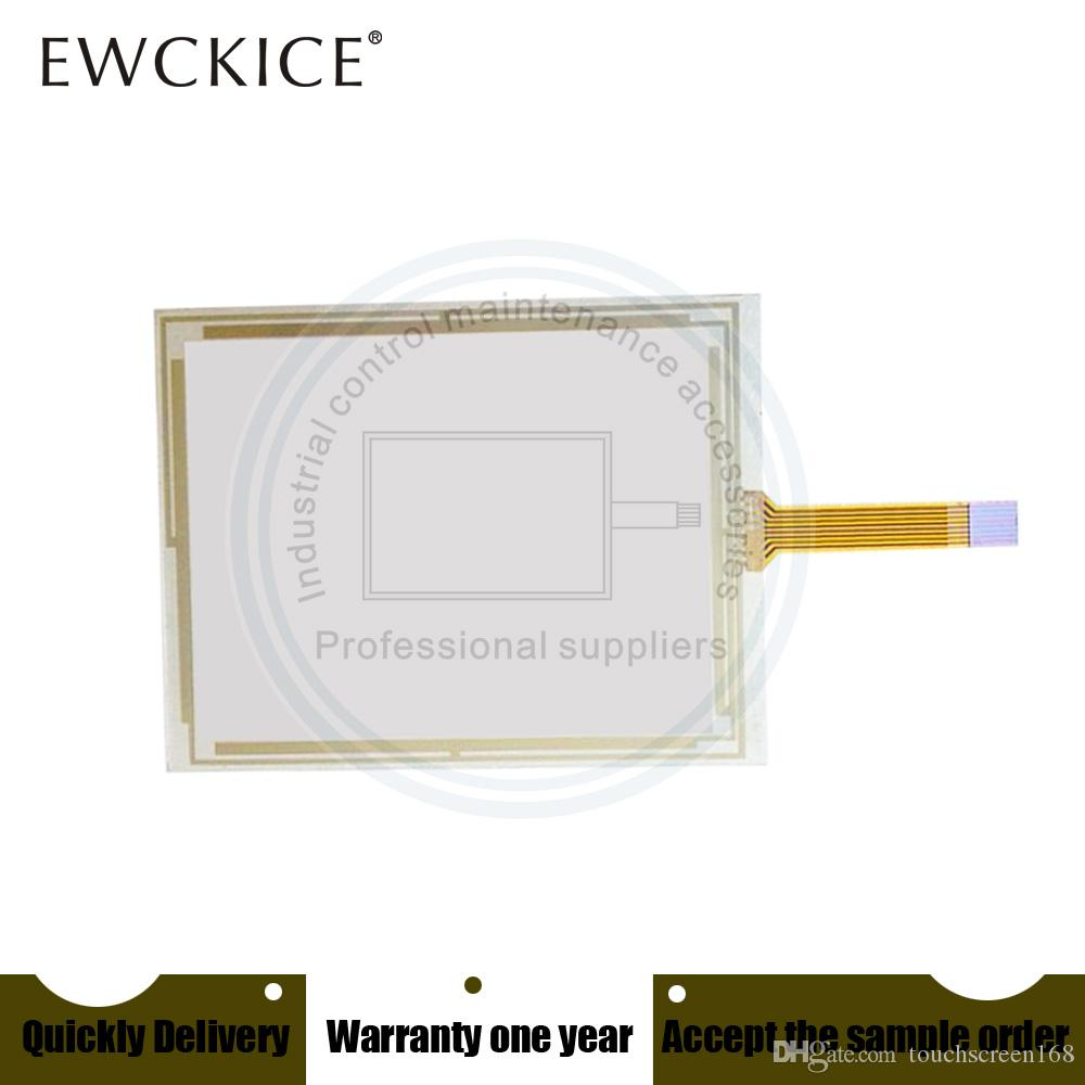 Orijinal YENİ 47-F-8-48-001 47-F-8-48-007 PLC HMI Sanayi dokunmatik ekran paneli membran dokunmatik