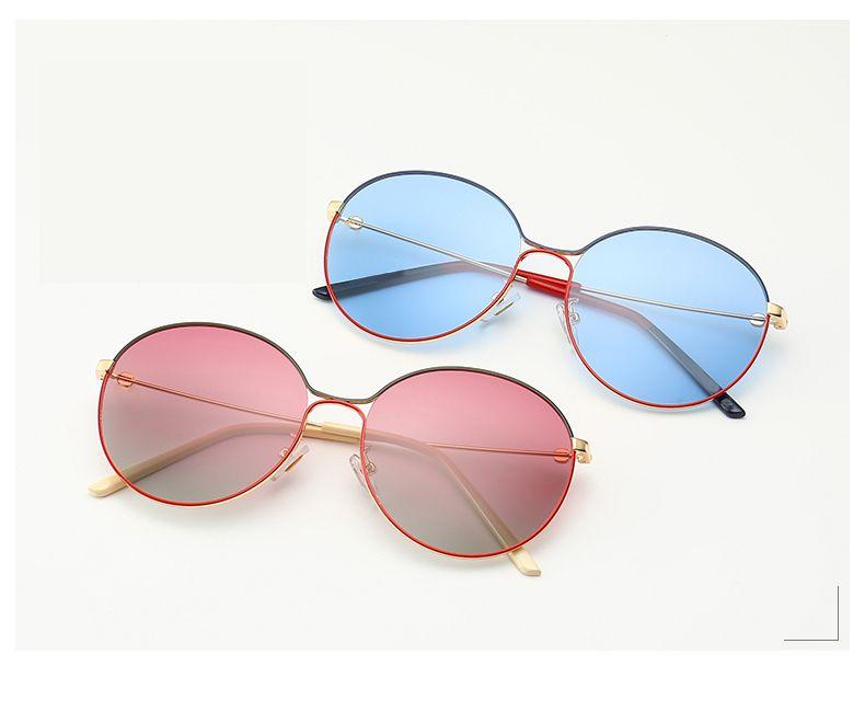 De nouvelles dames lunettes de soleil polarisées # 87: s0395 / CI mode rétro monture de lunettes de mode de conduite du conducteur de lunettes rondes pilotes