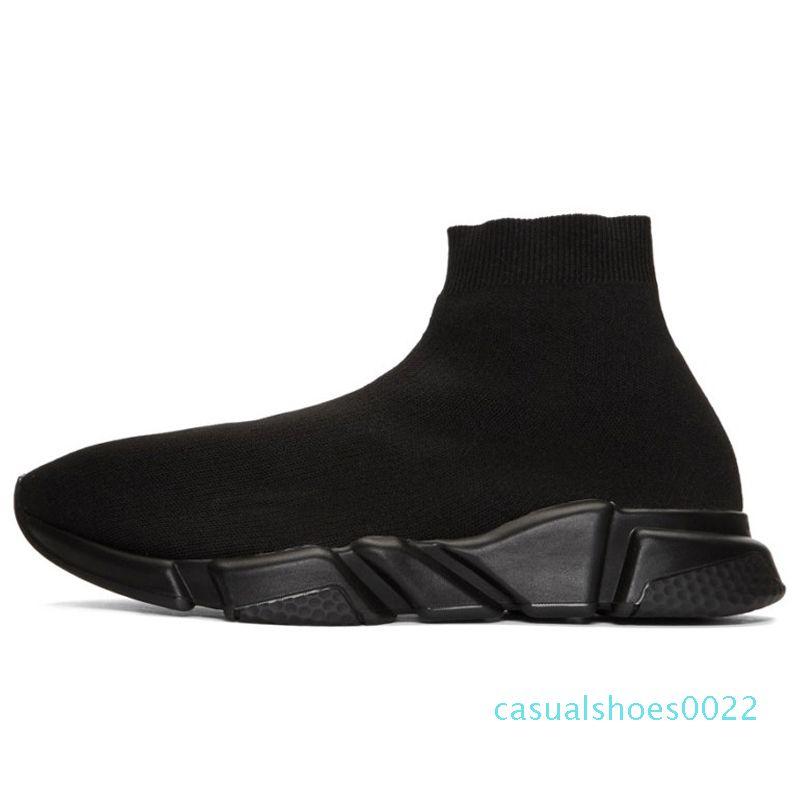 erkekler kadınlar lüks spor ayakkabılar Stok X çorap ayakkabı tasarımcısı mavi erkek eğitmen gündelik spor ayakkabı numarası 36-45 C22 üçlü siyah beyaz EWS'e mens