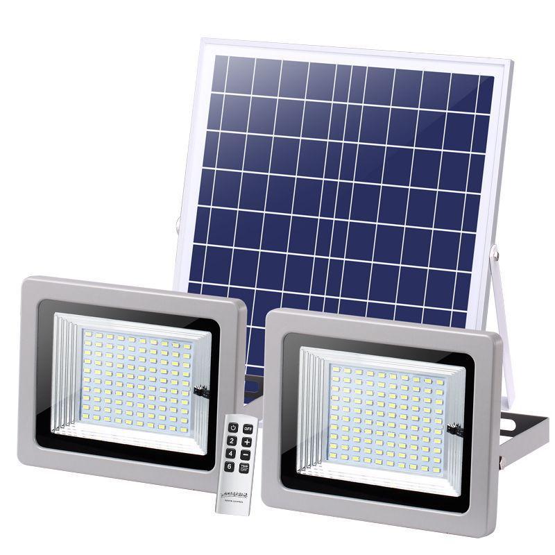 태양 램프 홍수 빛 더블 헤드 조명 LED 태양 광장 72LEDS 126LEDS 160LEDS 200LEDS 태양 풍경 조명 야외 거리 정원