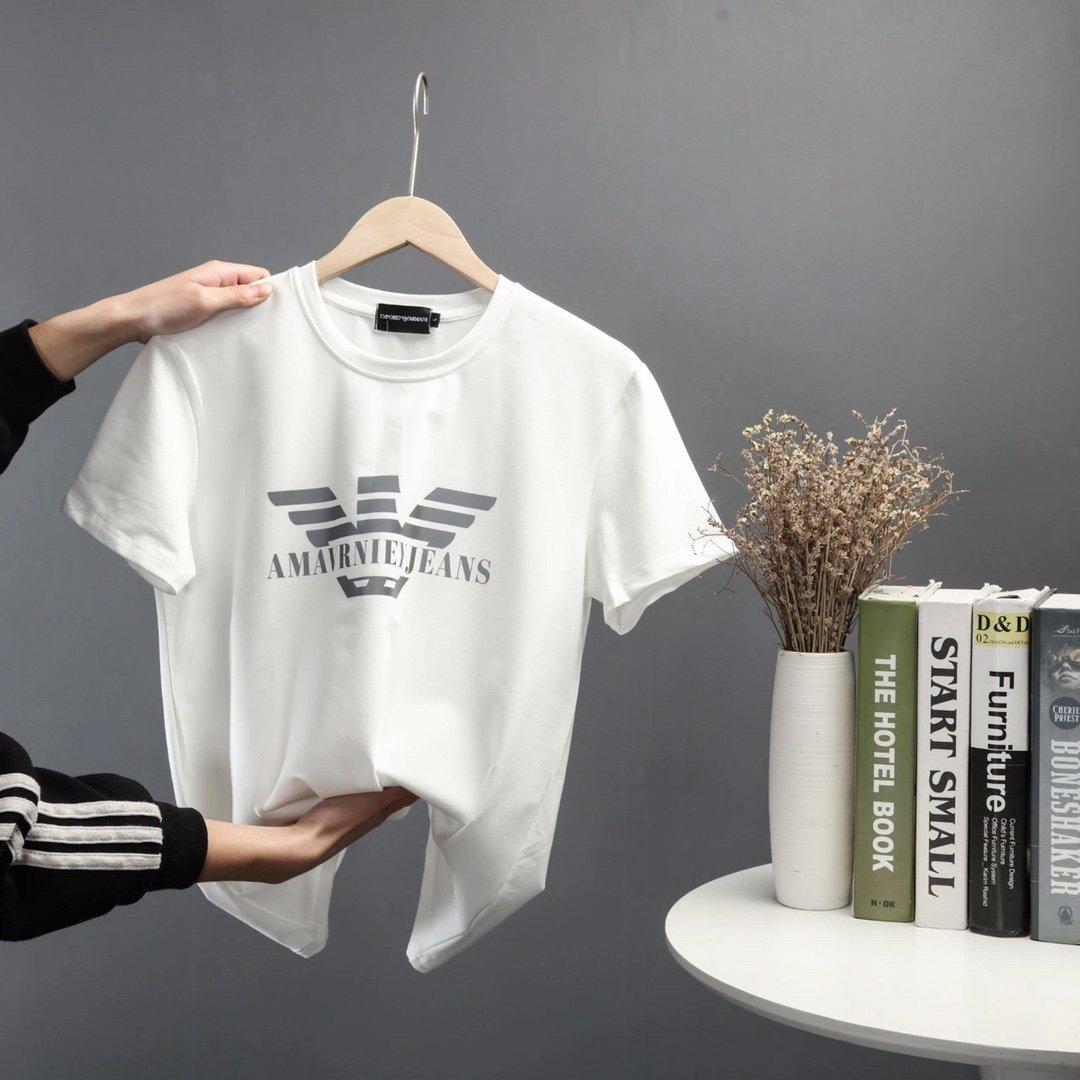 AMI الجديد مصمم تي شيرت ملابس رجالي العلامة التجارية بلايز تي شيرت أزياء الصيف المد Braned رسائل مطبوعة فاخرة الرجال القميص الملابس 20032501T