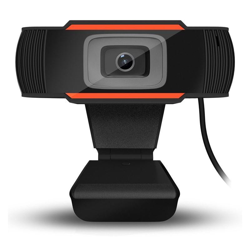 Webcam 480P 720P 1080P كامل HD كاميرا ويب تدفق الفيديو البث المباشر مع ميكروفون استريو رقمي + مربع التجزئة المتأنق
