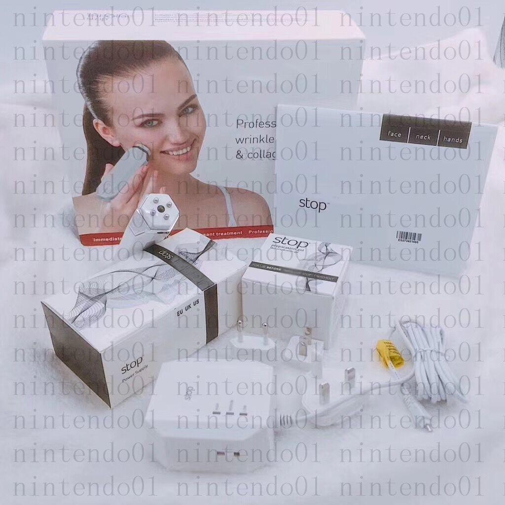 Новый Портативный Аккумуляторный Стоп РЧ лицо шеи рук Массажер для тела с эффективным лифтингом Регенерация кожи для женщин