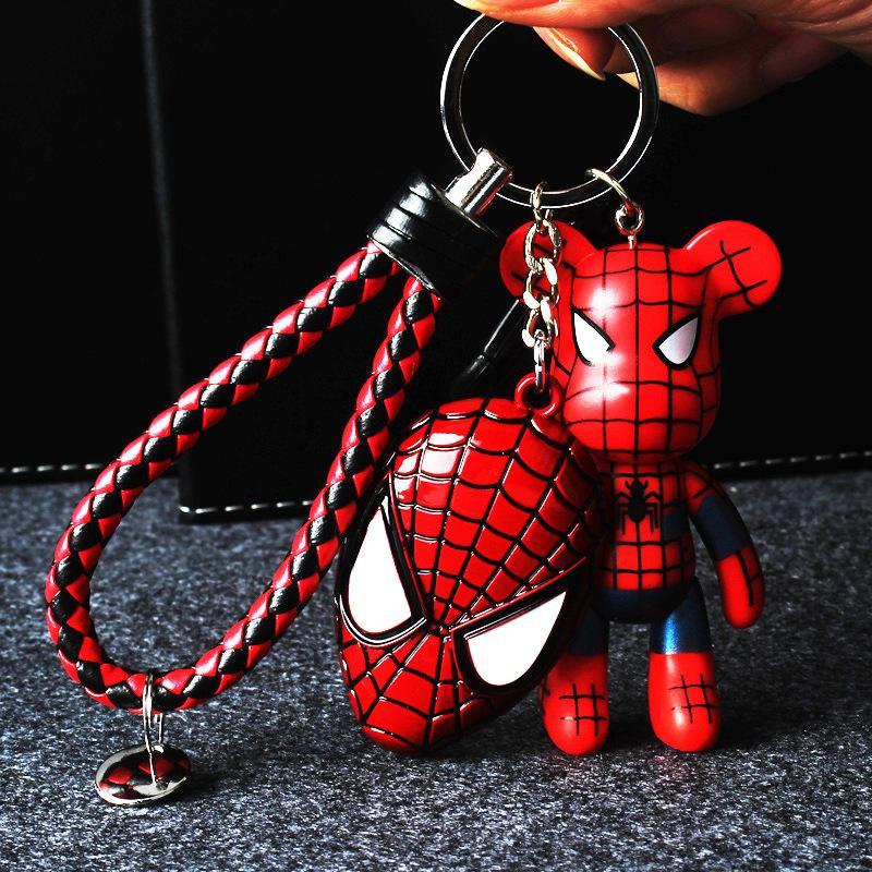 Popobe dos desenhos animados Popoom Sombrio Momo Vinil plasitc Chaveiro Chaveiro Saco Ornamentos Pingente Crianças Brinquedos Boneca Chaveiro