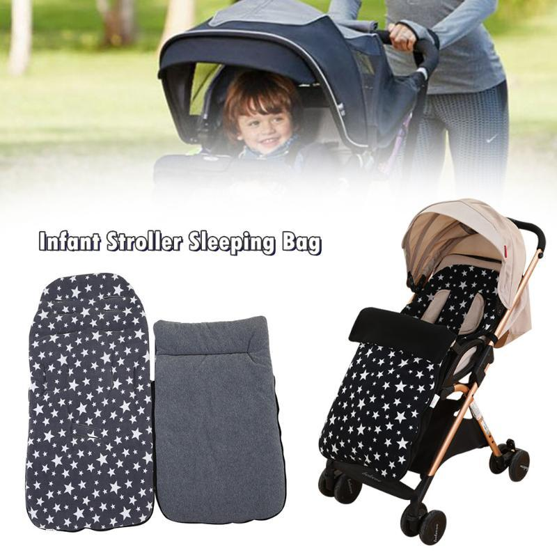 1 Pair Durable Black Oxford Single Handle  Cover For Baby Infant Pushchair IT