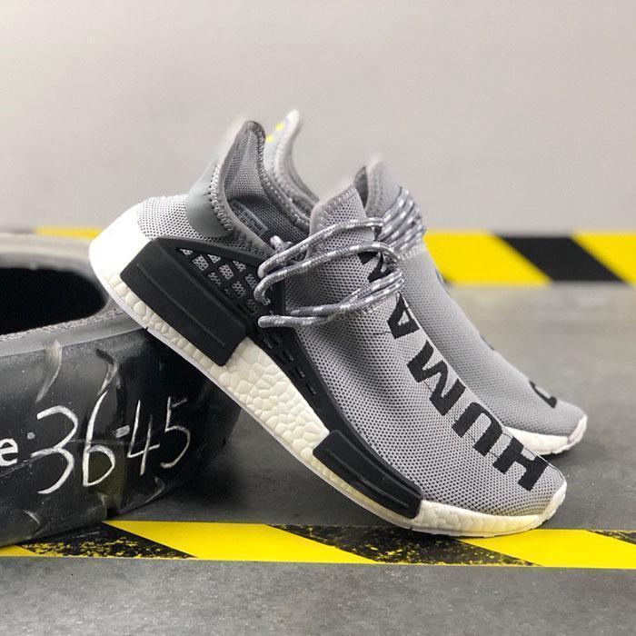 2019 NMD razza umana Pharrell Williams Uomo Running marche famose scarpe Pw Hu Holi Tie Dye uguaglianza donne del progettista sport scarpe da tennis con la scatola L3