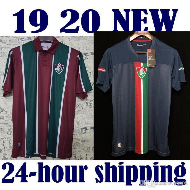 Fluminense 2019 2020 nova Camisa de Futebol 1920 Terceira Qualidade Superior 19 20 H. DOURADO Pedro 9 G. SCARPA home Uniformes de Camisola Camisa de Futebol Maillot De Pé
