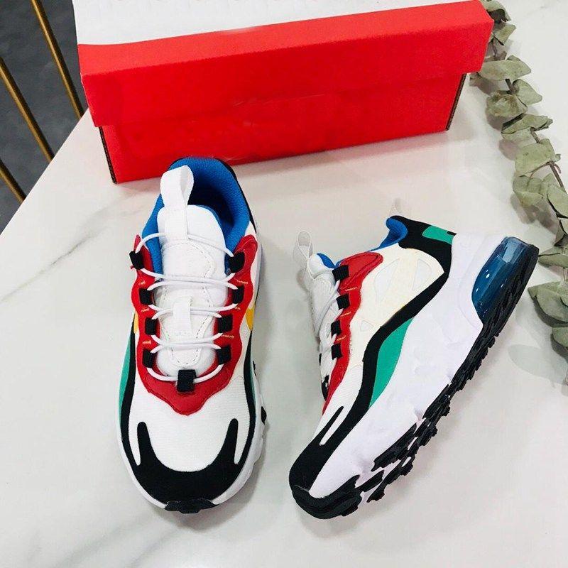 2019ss crianças reagem lifestlye correndo baixo top sapatos para crianças ao ar livre calçados esportivos com marca calcanhar