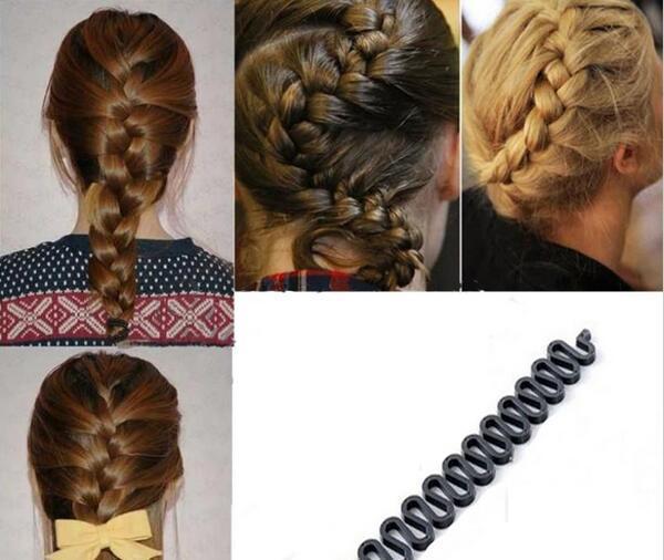 Hair French Braid Clip Magic Styling Stick DIY Bun Maker Tool USA Seller