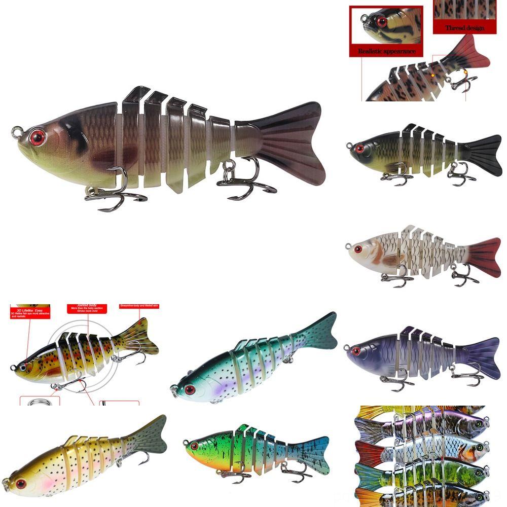 aFuj8 10cm15g luya esca 5 di colore acqua di mare d'acqua dolce piombo dolce realistico generale del corpo sommergibile esca amo da pesca esche