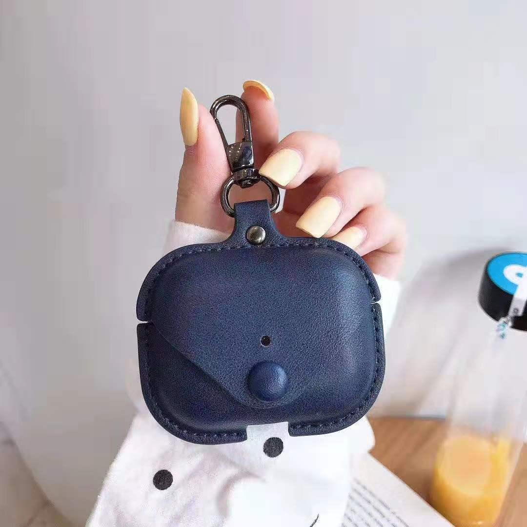 Fashion Earphone Shell Suitable For Airpods Pro Case Leather