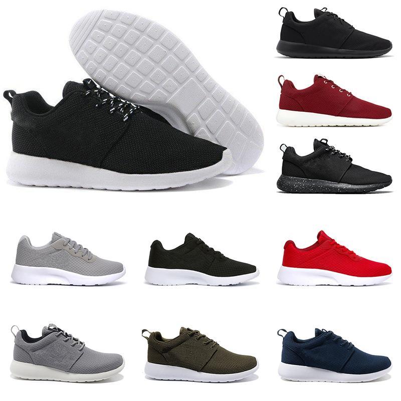 Free Run Fashion Brand Tanjun Londres Hommes Femmes pas cher Chaussures de course Blanc Noir Gris Robe formateur Respirant sports olympiques Chaussures de sport 36-45