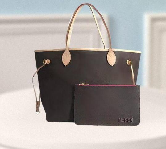 Genuine Purse Hot Oxidize Leather Purse GM Bag MM Bag Leather Handbag Colors Shopping Bags 8 Shoulder Famous Vpgsq