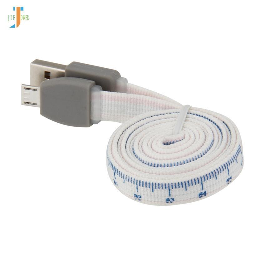 Cable Micro USB de Calibración Micro USB Cable de Carga Rápida Para Samsung Xiaomi Android Teléfono Móvil Cargador de Datos Cable de Alambre 300 unids / lote
