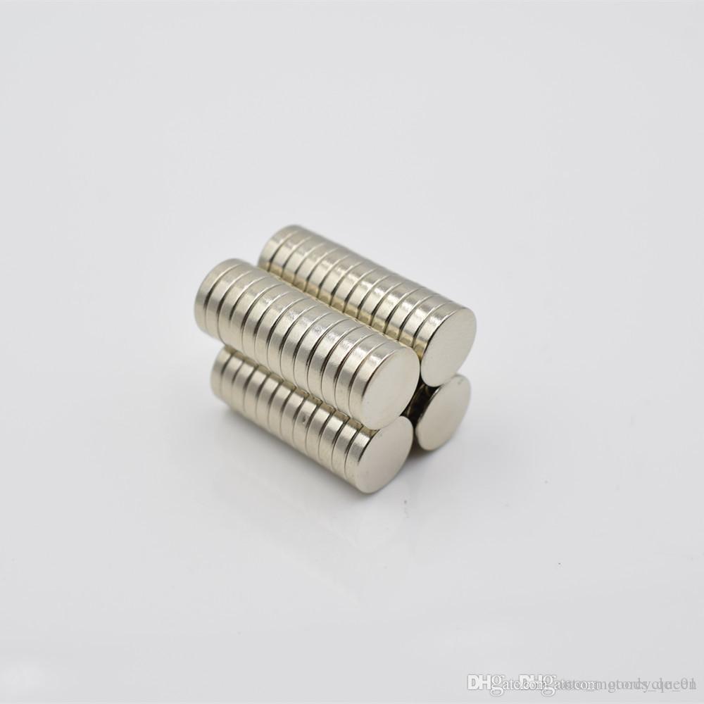 Hot vente Super Strong Round disque Cylindre 12 x 1,5 mm aimants Néodyme Rare Earth Livraison gratuite 1000pcs 003