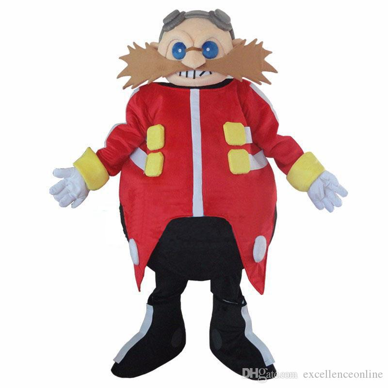 Smart Yellow Doctor Sonic The Hedgehog Mascot Costume Bulldog Mascot Suit Very Cheap Mascot Costumes From Excellenceonline 199 04 Dhgate Com