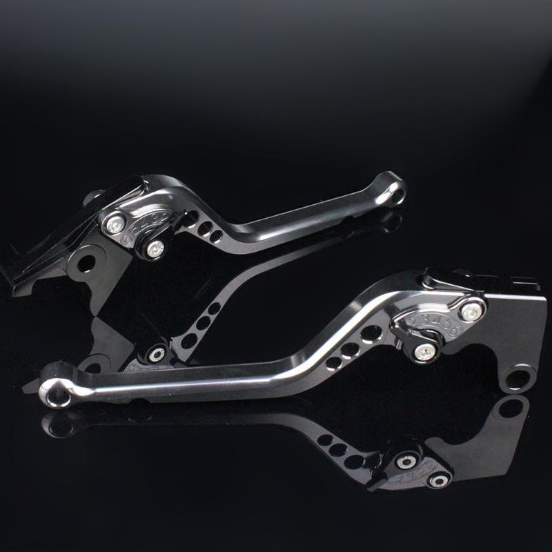 CNC دراجة نارية الفرامل عتلات الألومنيوم قابل للتعديل الفرامل الفاصل ليفر يصلح لرويال انفيلد الهيمالايا 400