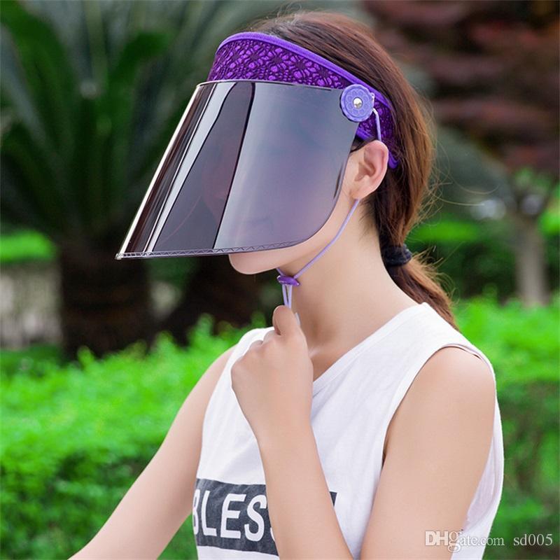 Outdoors Riding An Electric Car Visors Sunscreen Sunshade Adjustable Veil Hats Women Summer Hat Hot Sale 7 5jl E1