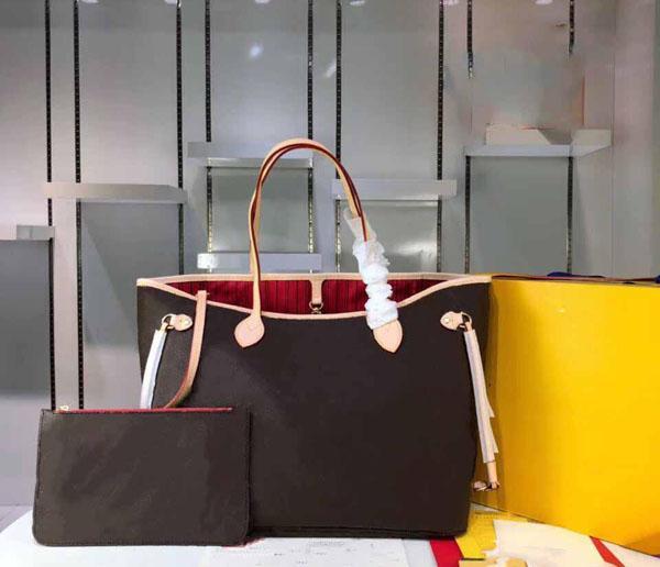 Naverfull classique Sac fourre-tout avec embrayage Designer Sacs à main de luxe Sacs à bandoulière femme Messenger Sacs à main 40995