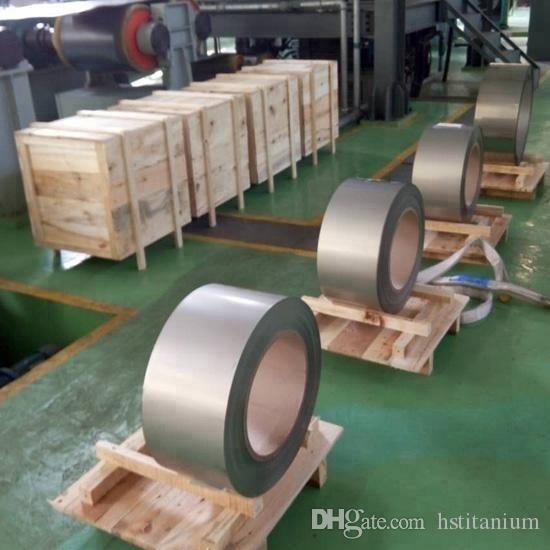 China beste Preisqualität grade1 / 2 Titanfolie hochwertiges Titan-Blech / Titanfolie