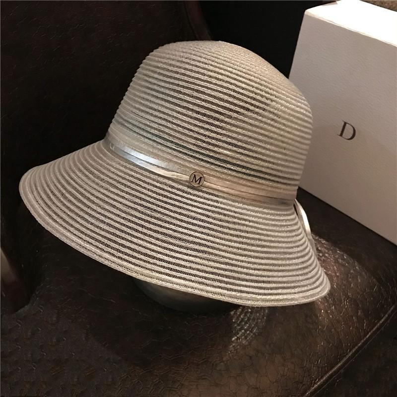 Women Fashion Street Hat Pretty Elegant Letter Hat Foldable Lady