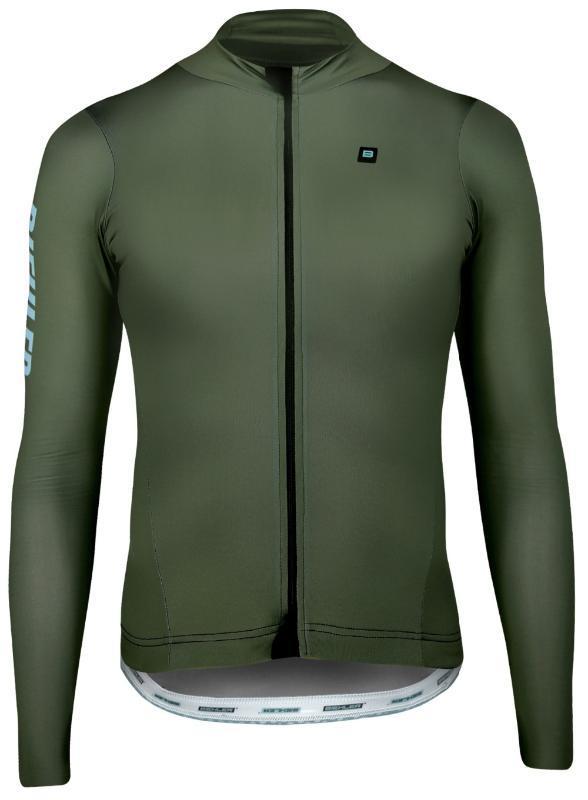 2019 Nueva primavera otoño camisa de la bici de los hombres ciclismo Jersey de manga larga al aire libre camino de la bicicleta camisetas de la ropa de ciclo