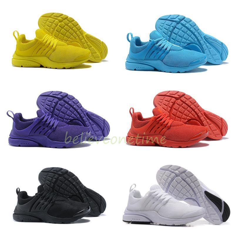 nike presto purple running shoes
