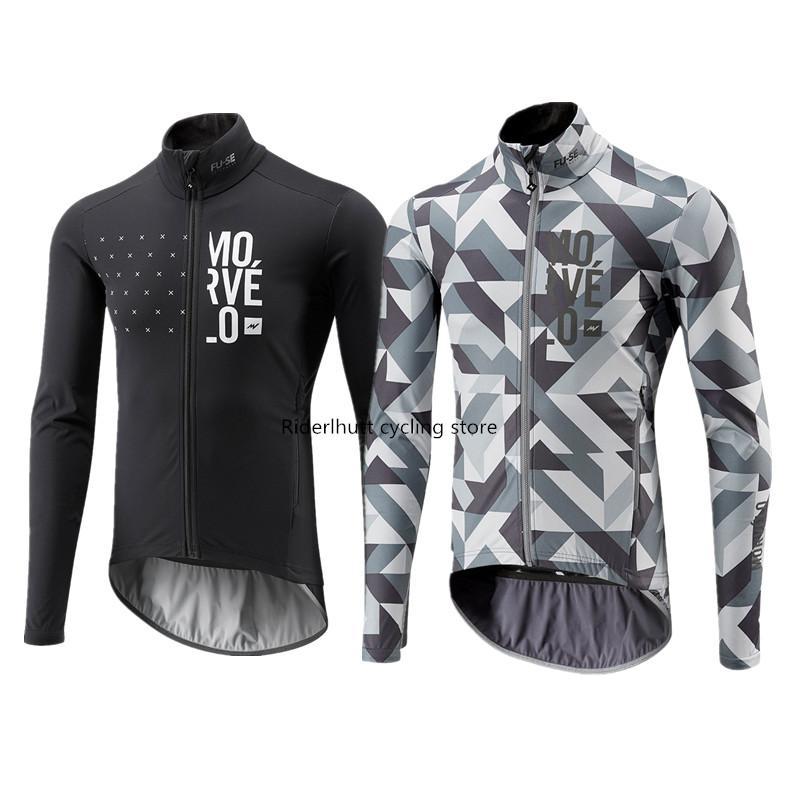 2020 Morvelo Maillots Ciclismo manga comprida Ciclismo Jersey camisas dos homens Outono / Nova Primavera MTB Mountain Bike Tops Roupa