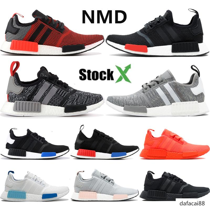 2020 Nmd R1 Lush Red Europe Exclusive Blanch Blue Light Onix