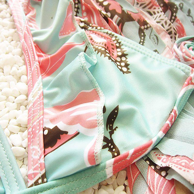 Ensoleillé maillot de bain filles eva enfants bikini maillot de bain 2019 3pcs / set bikini filles enfants bébé fille maillot de bain maillot de bain maillot de bain